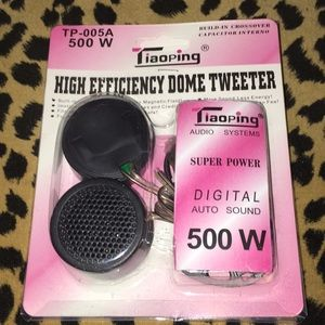 High Efficiency tweeter